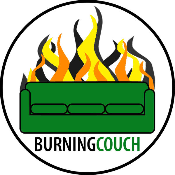White Burning Couch Logo By Crazyaznfool On Deviantart
