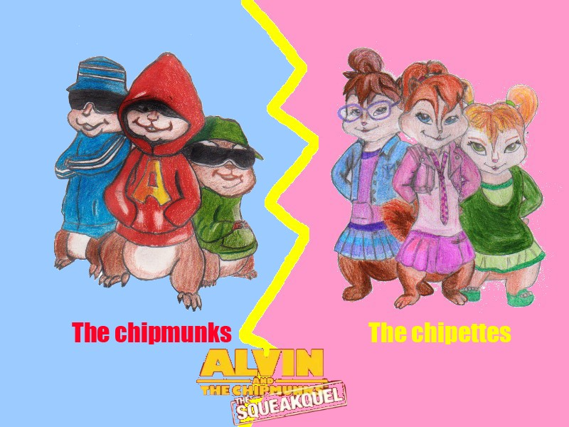 The Chipmunks Vs The Chipettes By Brittanyandalvin On