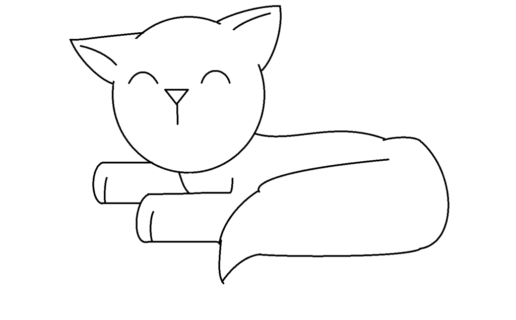 Transparent cat tumblr free cute cat lineart whatever