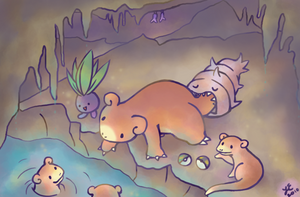 Slowpoke Well by Paleona
