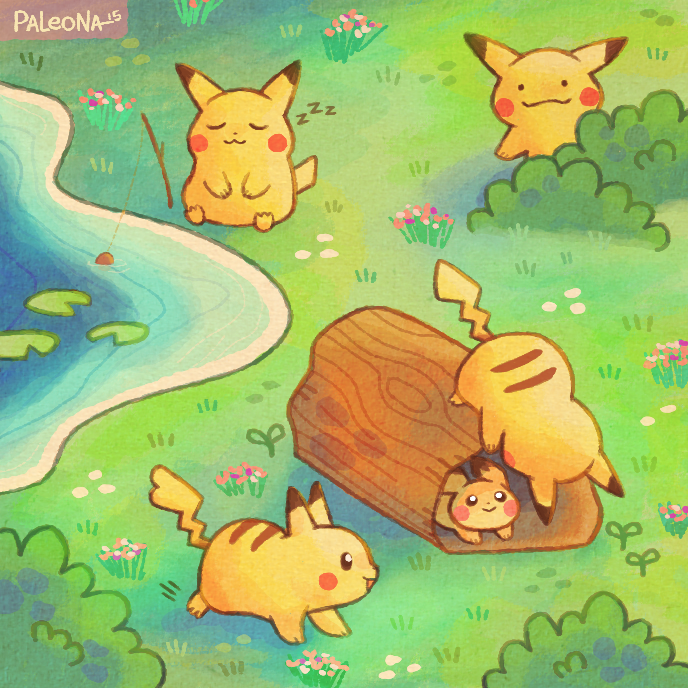 Eevee Live Wallpaper: Pikachu Forest By Paleona On DeviantArt