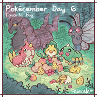 Pokecember Day 6 by Paleona