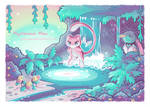 Mysterious Mew by Paleona