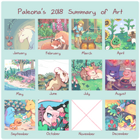 2018 Summary of Art by Paleona