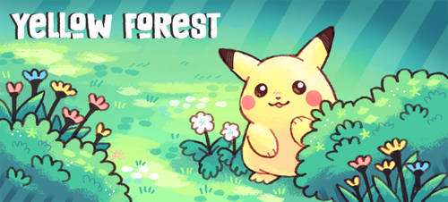 Yellow Forest banner ver 3 by Paleona