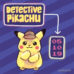 Detective Pikachu - coming soon by Paleona