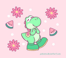 Yoshi for Cactusbloomart