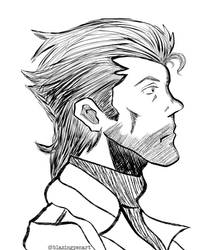L.R. Serpico (Inked Profile)