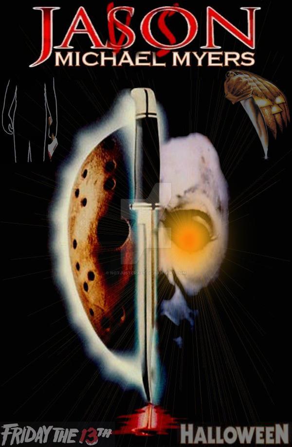 Jason vs. Michael Myers by NotJustCrazy