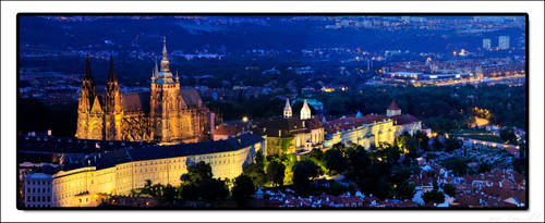 Prague Castle by criss-ac