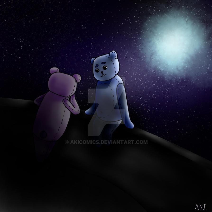 The Moon by AkiComics