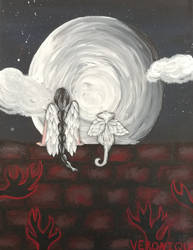 A Quiet Night by AkiComics