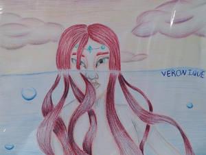 A mermaid In The Water