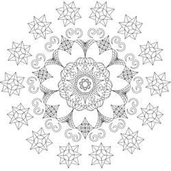 Mandala Coloring sheet 2