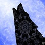 Wolf Mandala by AkiComics