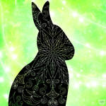 Bunny Mandala by AkiComics