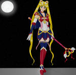 Armored Sailor Moon by ChristinePi
