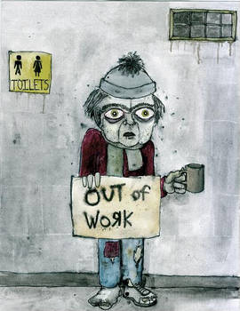 Out of work