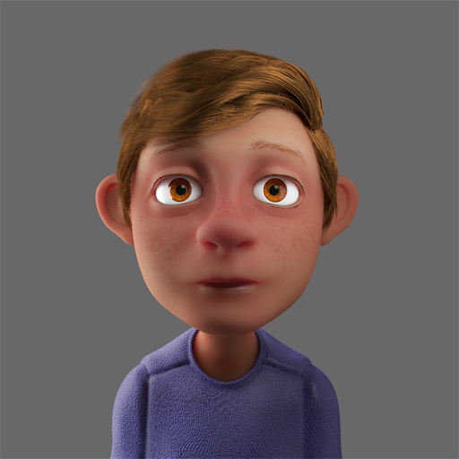 Blender Modeling A Cartoon Character : Cartoon blender by robersonjk on deviantart