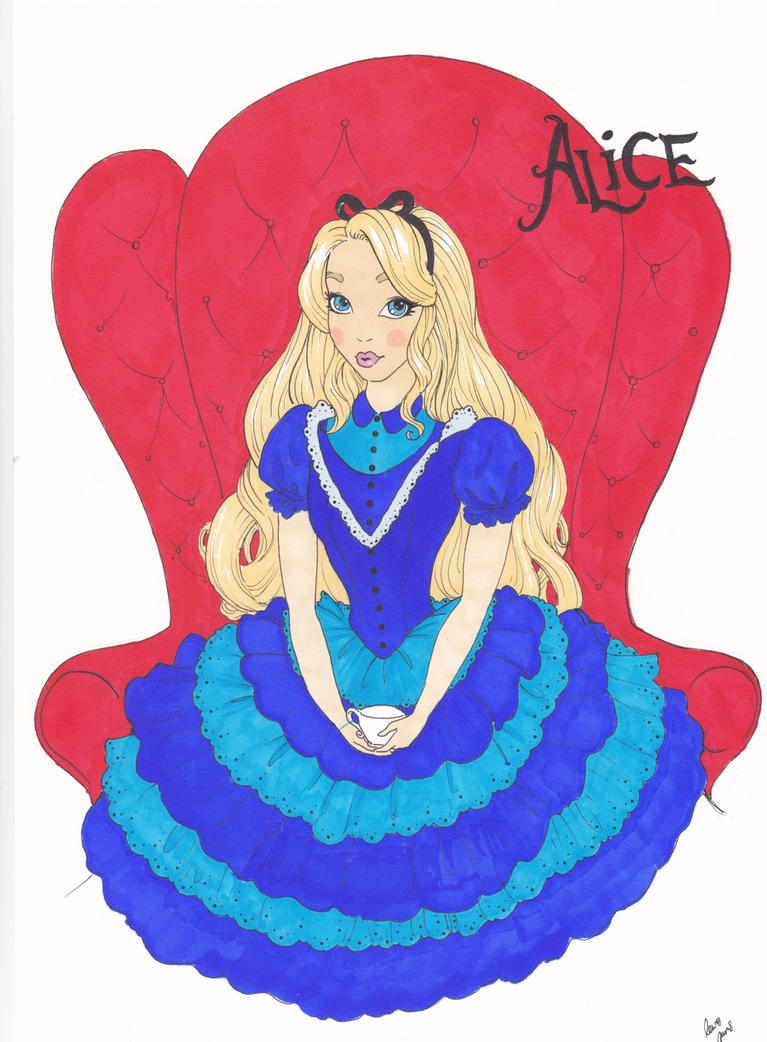 Another Alice by Lewis-James