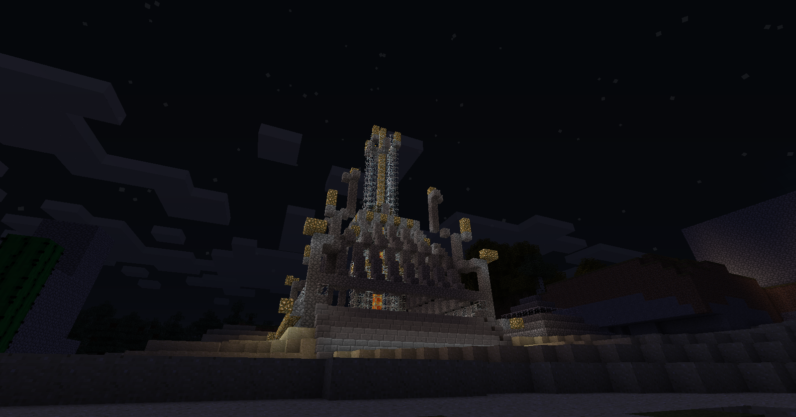 Minecraft Tower of Stars by ijustloveit619