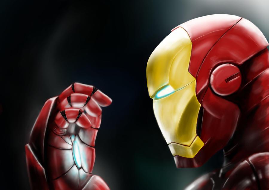 Iron-Man by SiCoklat