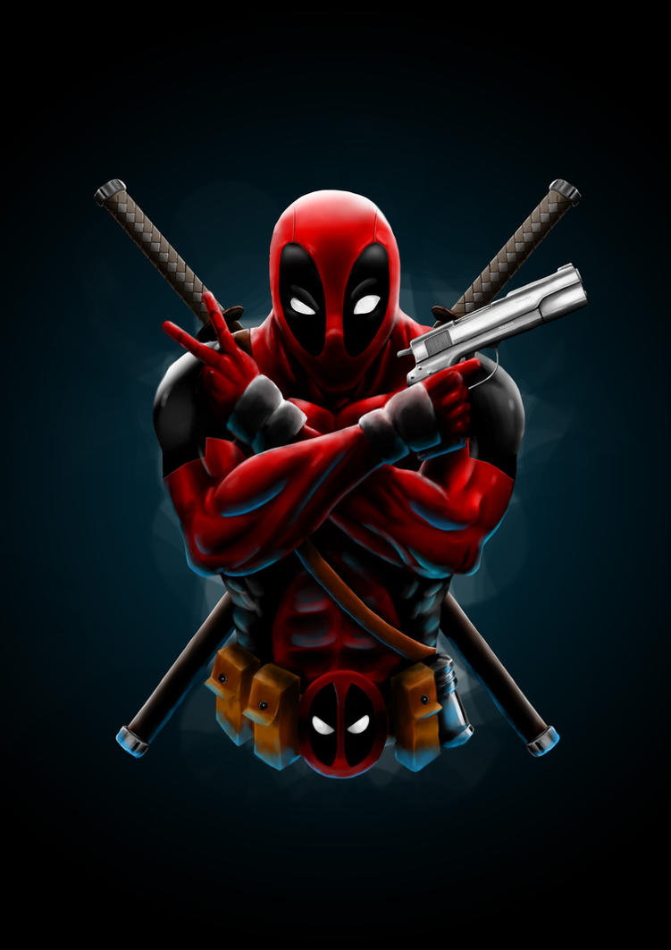 Deadpool iphone 4s wallpaper