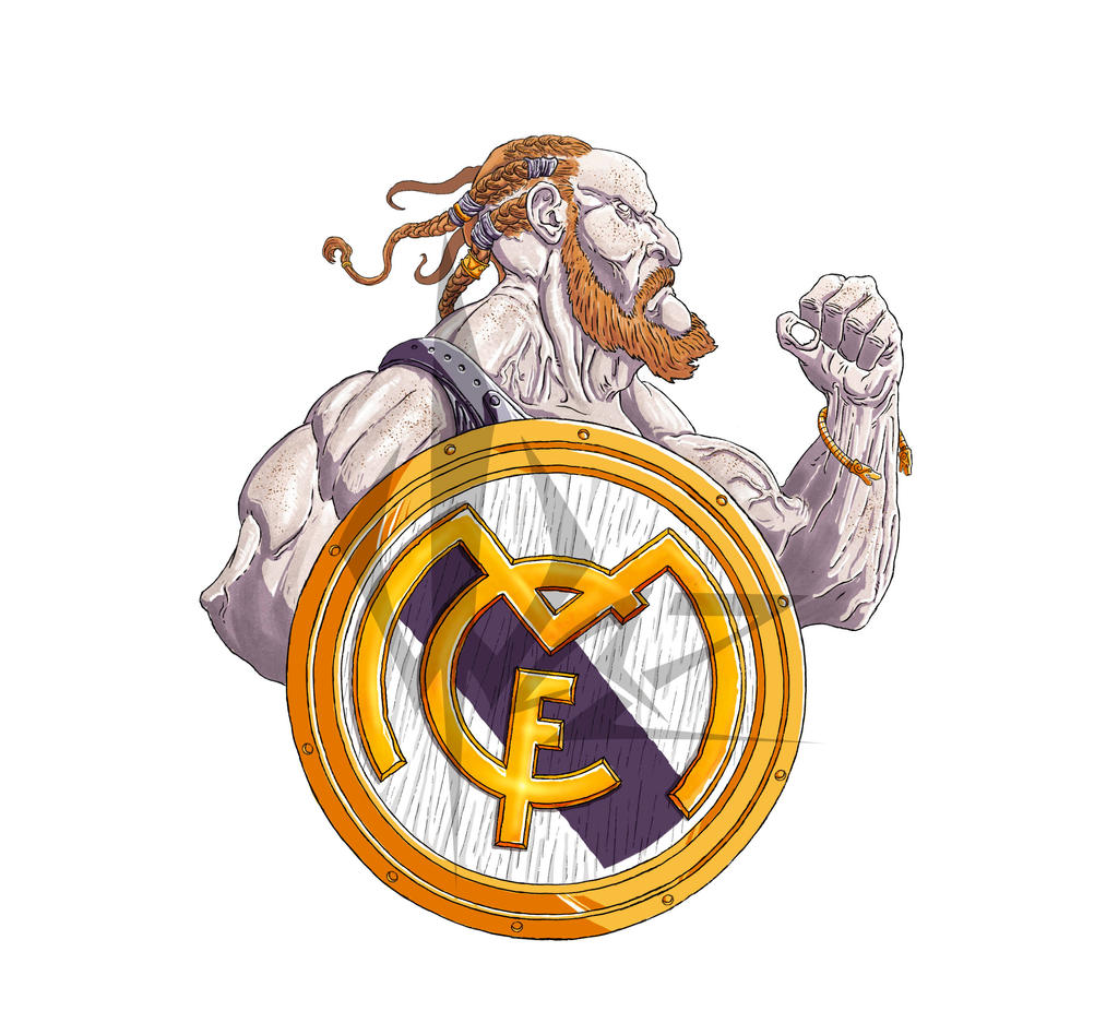 Viking Real Madrid by ThewazVangualer on DeviantArt