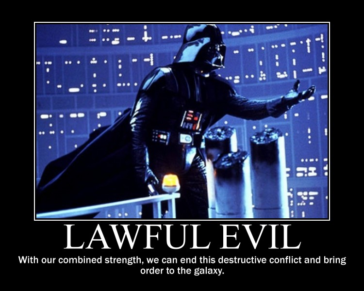 Lawful Evil Vader by 4thehorde