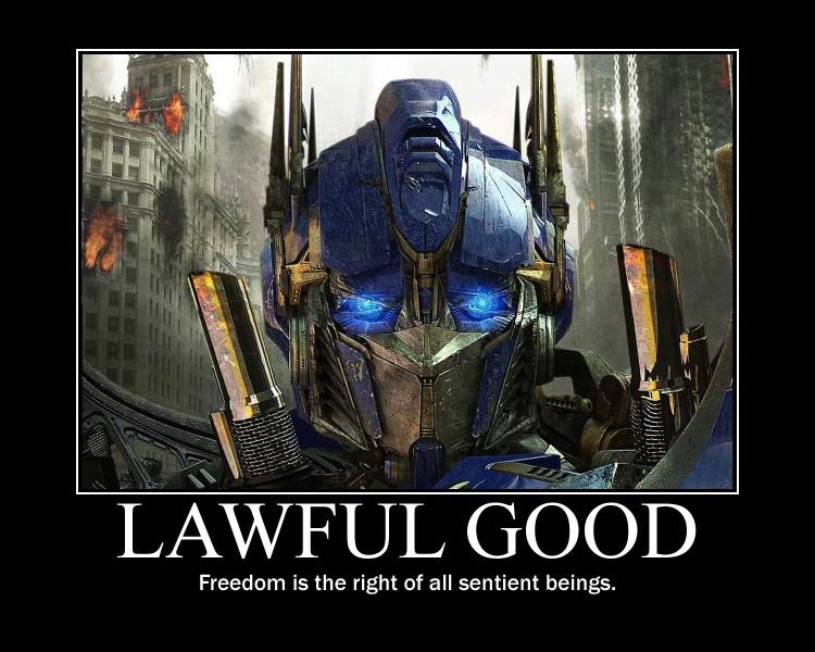 Lawful Good Optimus Prime by 4thehorde on DeviantArt