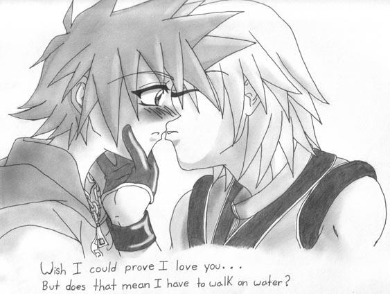 Riku and Sora by elias-sakuma