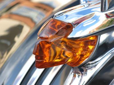 Classic Car Hood Ornament 16 by Eric2Dimensions
