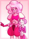 Pink Diamond and Pearl
