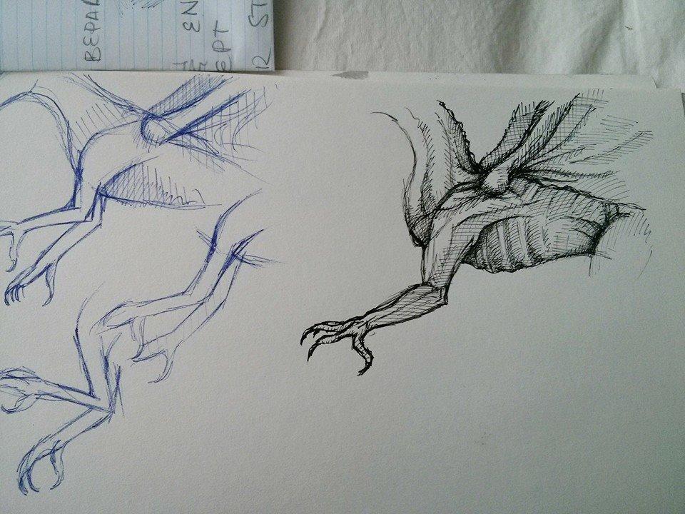 Sketches by STIGA17
