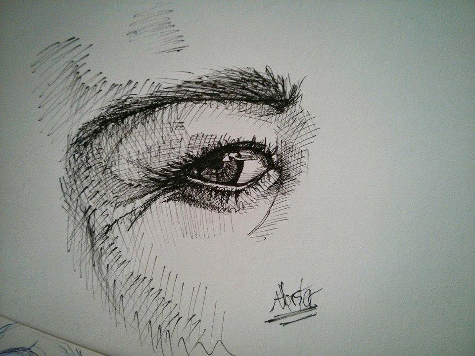 Ink eye by STIGA17