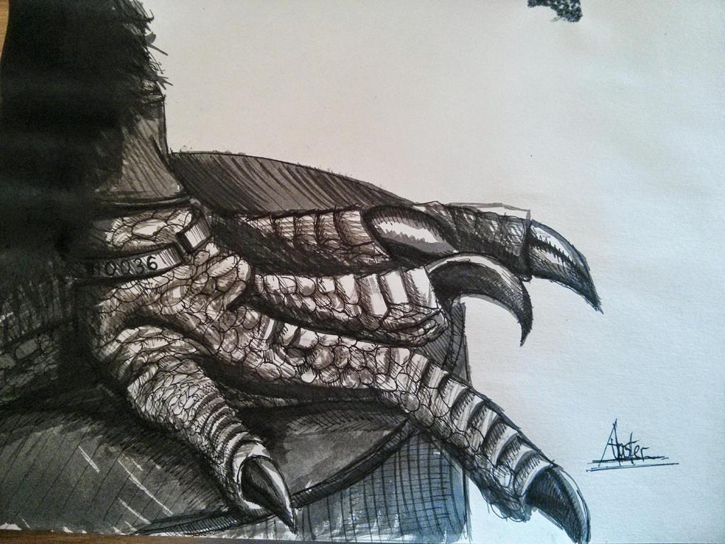 Eagle claw by STIGA17
