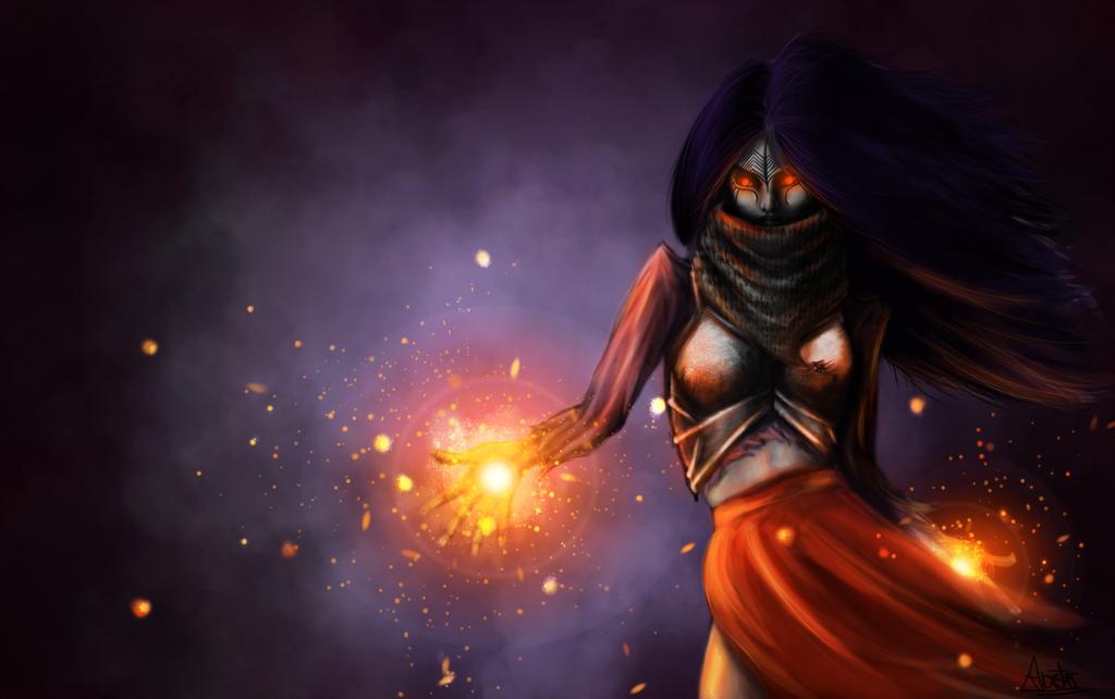 Elf witch by STIGA17