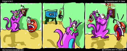 Webcomic Orange and Cat 2