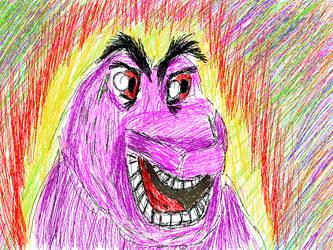 Barney Wallpaper by ComicsNix