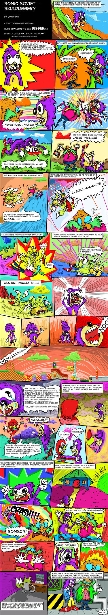 Sonic Soviet Skulduggery by ComicsNix