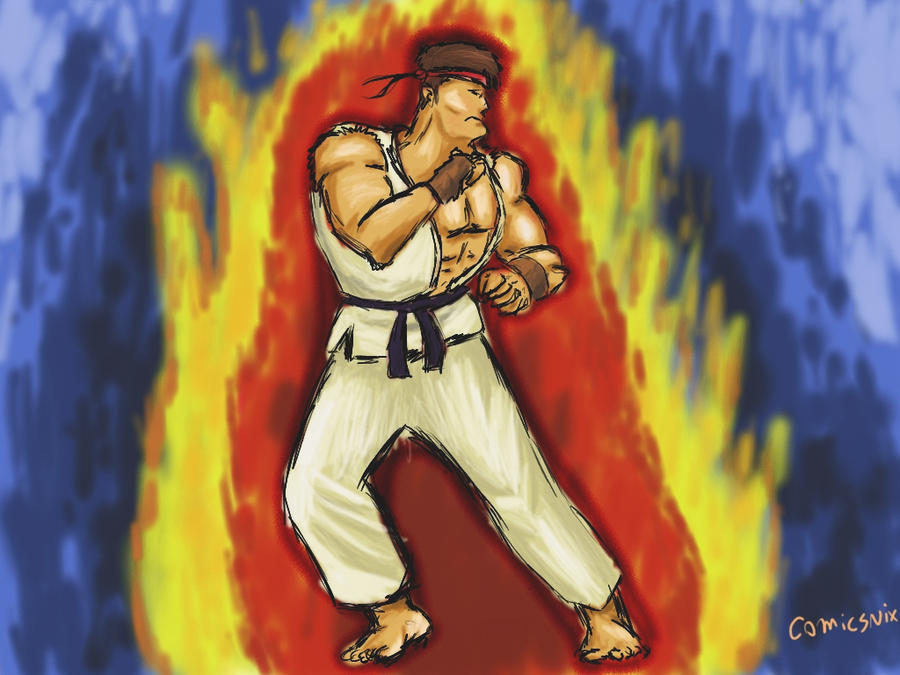 wallpaper street fighter. Street Fighter Ryu Wallpaper