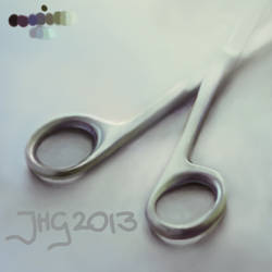 New Year's Scissors