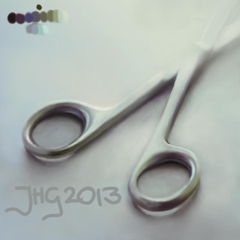 New Year's Scissors by jhgronqvist