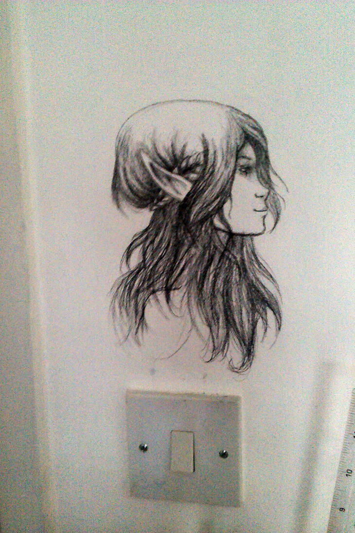 Drawing on my bedroom wall by cazml on deviantart for What to draw inspiration