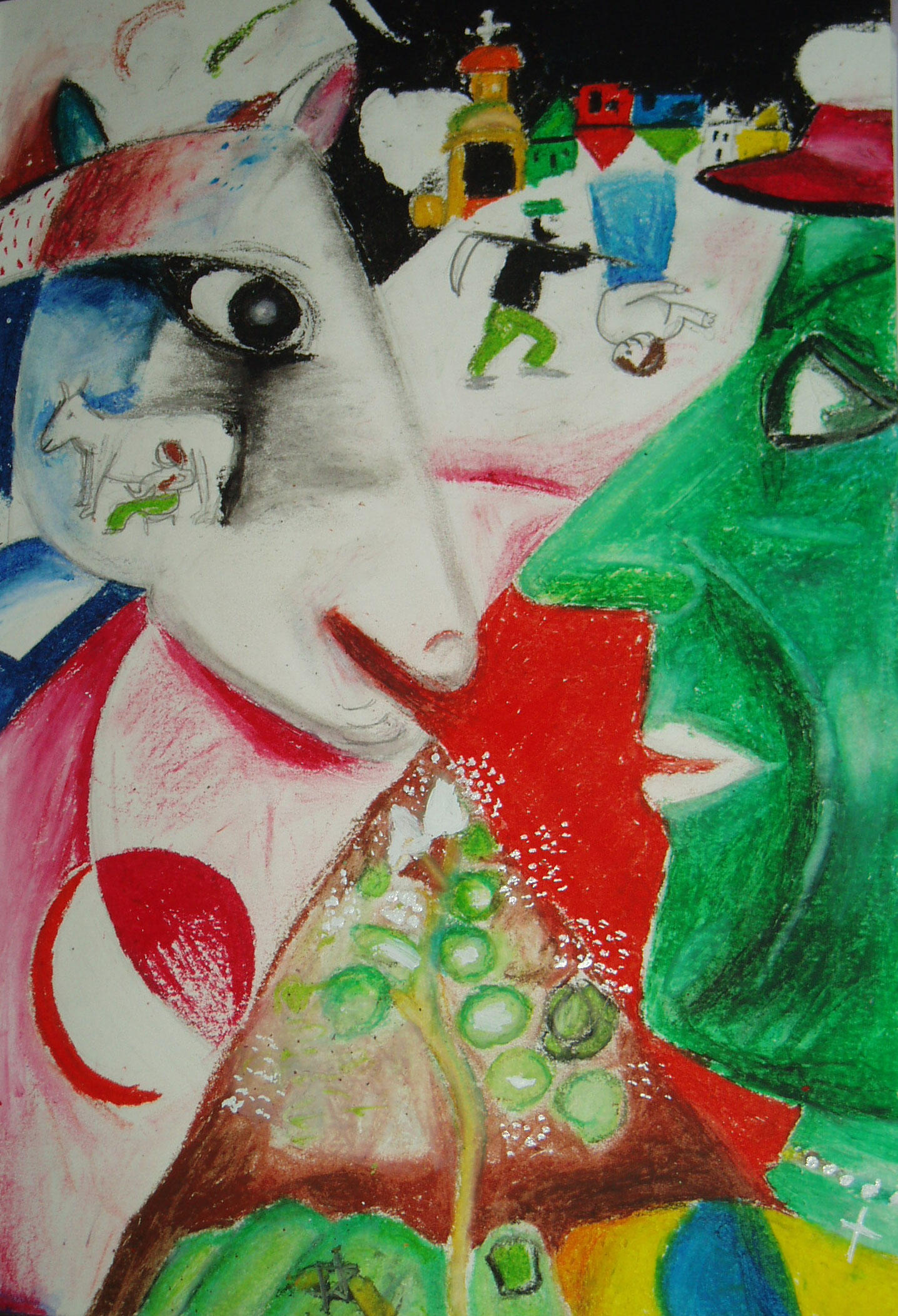 I and the Village - Chagall by InternalTranquillity on ...
