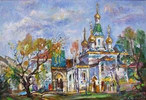 The Russian Church by lubolubo