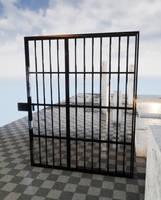 50's prison door