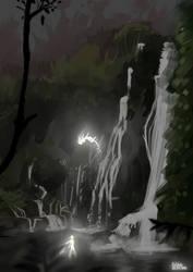 Fairies' bath - night