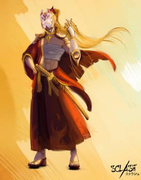 Amaterasu - Sclash character illustration