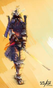 Izanagi - Sclash character illustration